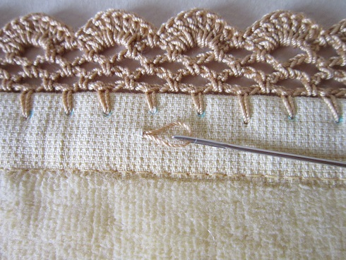 Miss Abigails Hope Chest Tutorial Scalloped Net Crochet Edging
