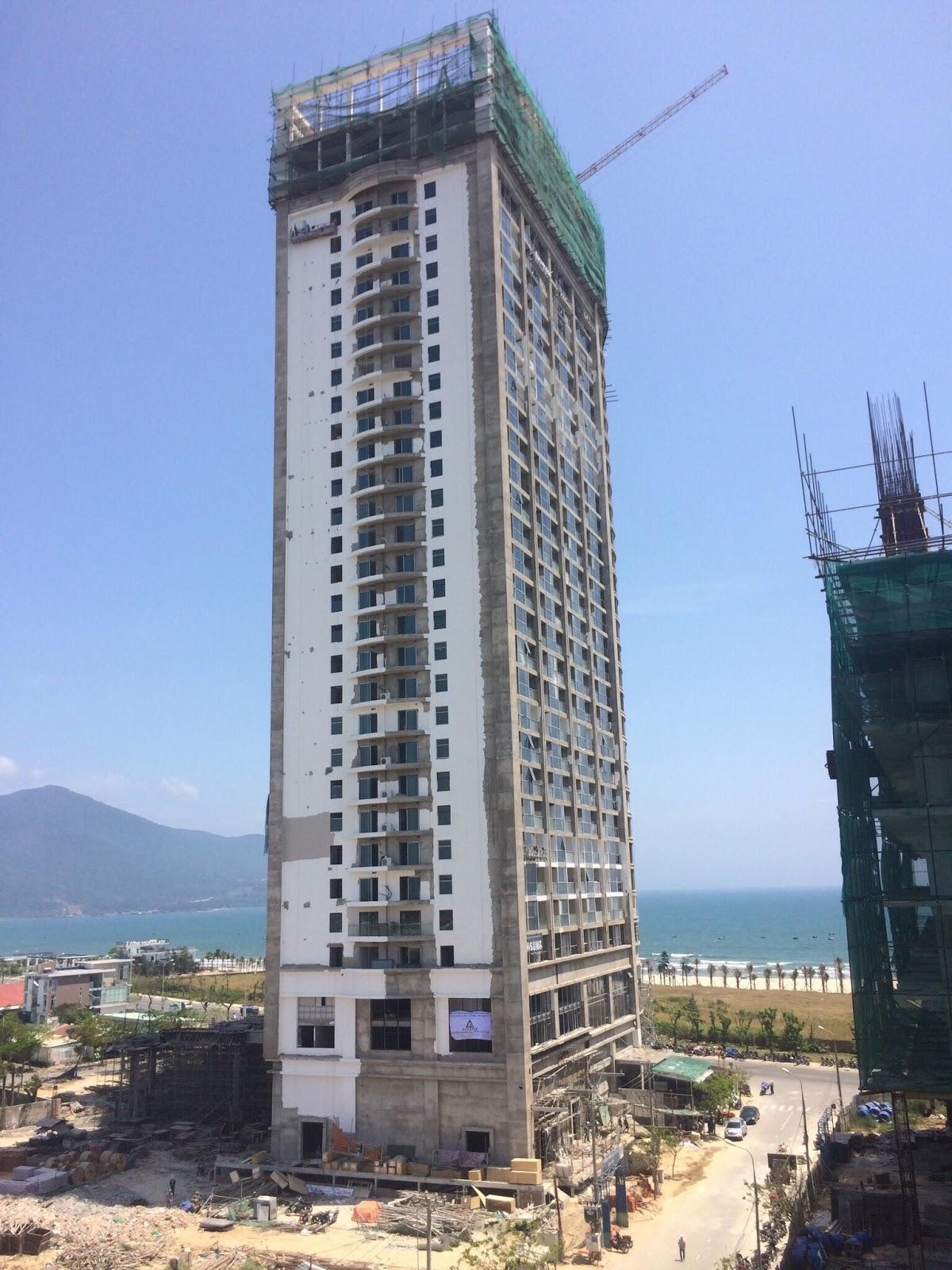 Tiến độ thi công dự án Luxury Apartment