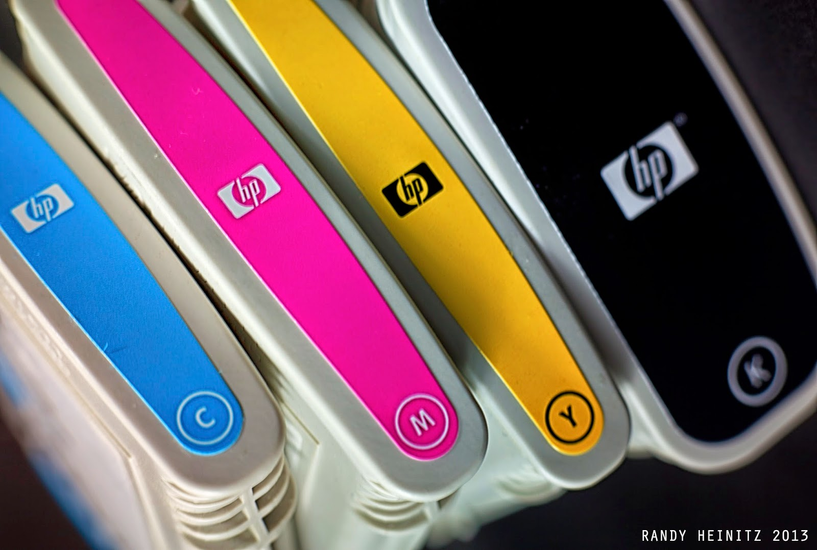 how to see the ink lavel for hp printer