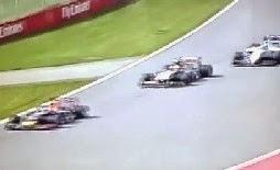 Σοκαριστικό τρακάρισμα στην F1- Δείτε το βίντεο!