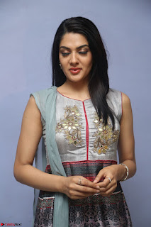 Sakshi Chaudhary Beautiful Emroidery Work Sleeveless Anarkali Dress 020.JPG
