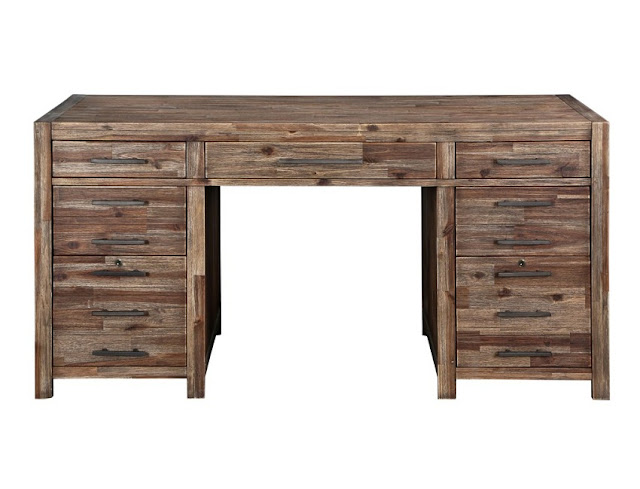 best buy rustic contemporary office desk for sale online