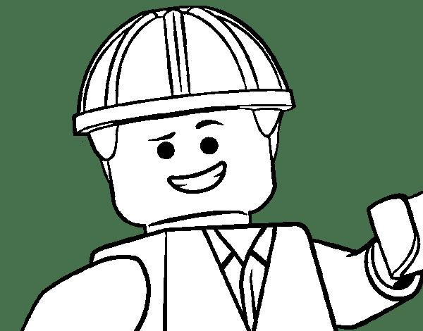 Blog MegaDiverso: Lego Película Para Pintar Y Descargar