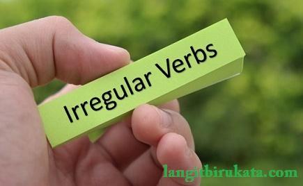 Daftar Kata kerja tak beraturan