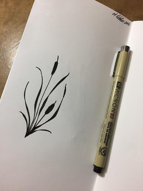 The Porch Postscript - InkTober Completion