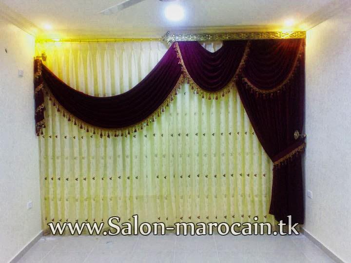 Rideaux Salon Marocain Moderne – Maison Image Idée
