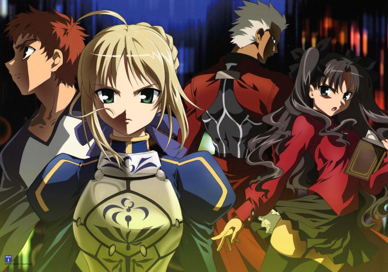 Urutan Nonton Anime Fate Series Yang Benar