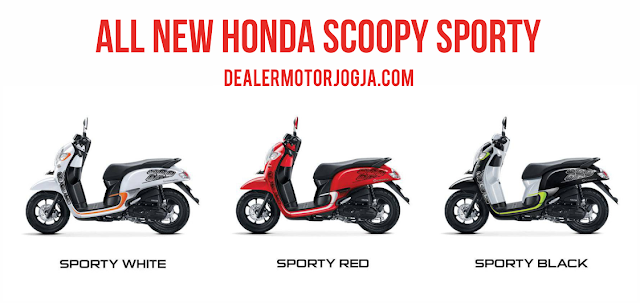 New Honda Scoopy eSP Sporty