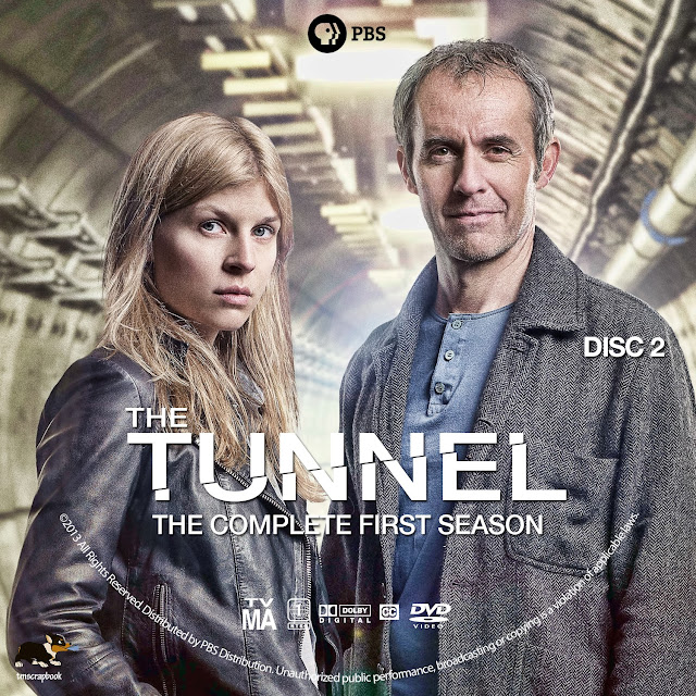 The Tunnel Season 1 Disc 2 DVD Label