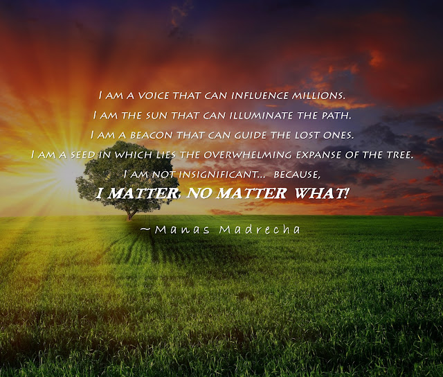 I Matter, No Matter What! - Get Inspired