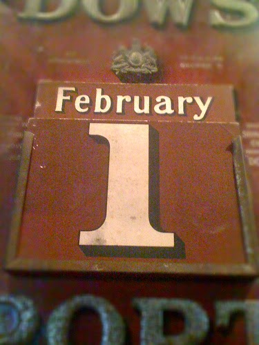 The First Of February