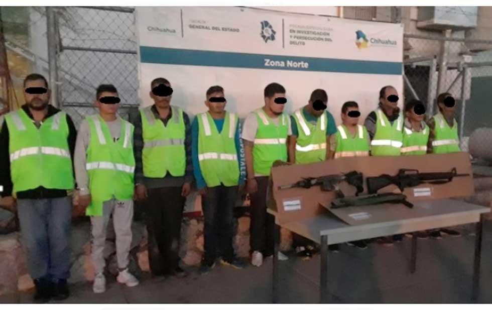 Policías desatan cacería de Sicarios tras ataques en Ciudad Juárez