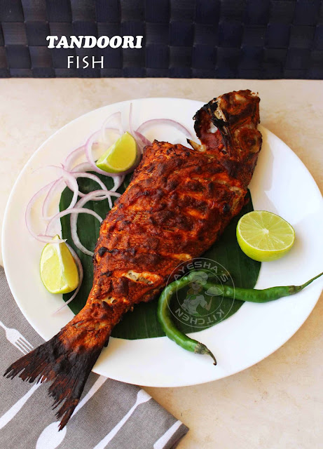 tandoori fish indian fish recipe tandoori chicken without oven on grill chicken recipes fish recipes grilled recipes ayeshas kitchen recipes seafood recipes sheri fish hamour fish recipes