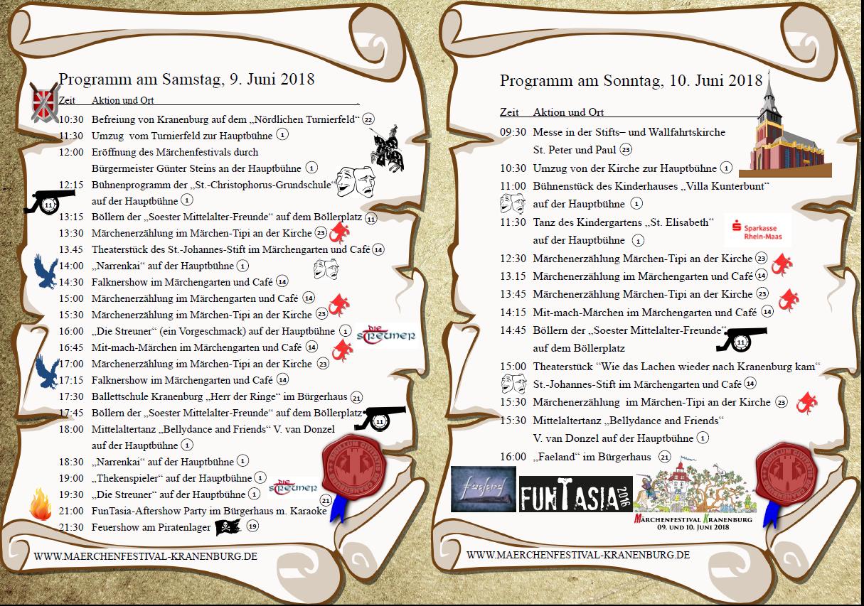Märchenfestival | Sprookjesfestival 2018 in Kranenburg (9./10. Juni)