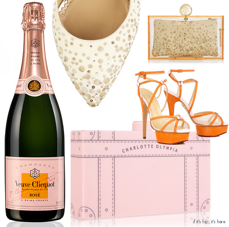 Veuve Clicquot Champagne Handbags and Heels
