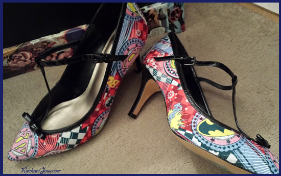 Decoupage Shoes for ComicCon