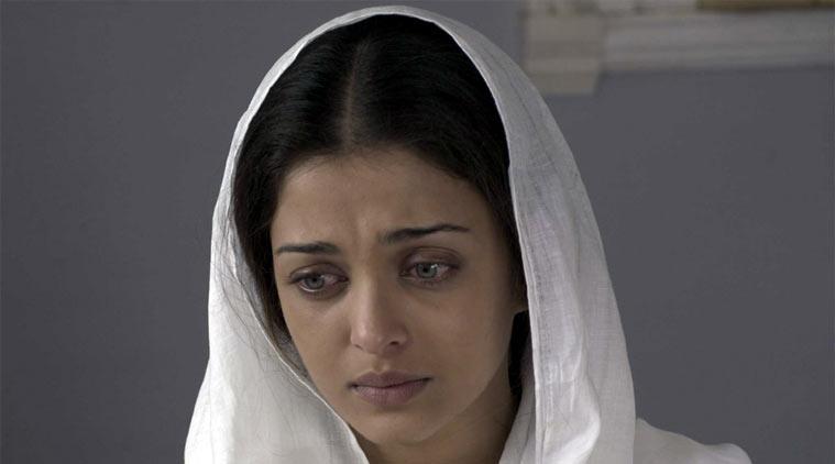 Ashwarya Simple look in Sarabjit Movie