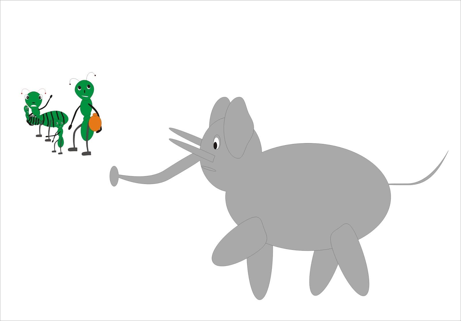 Gajah Dan Penghuni Koloni Cerita Tentang Semut