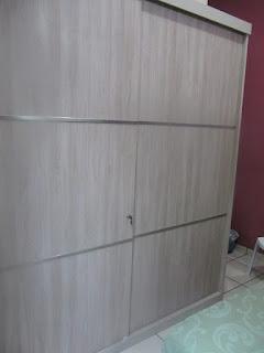 Almari 2 Pintu Pintu Geser - Furniture Semarang