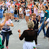 Fiestas | La romería de Laguntasuna saca a bailar a un centenar de personas