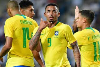 Brasil vence amistoso com a Arábia Saudita