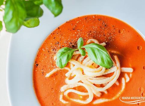 Zupa-krem ze słodkiej papryki
