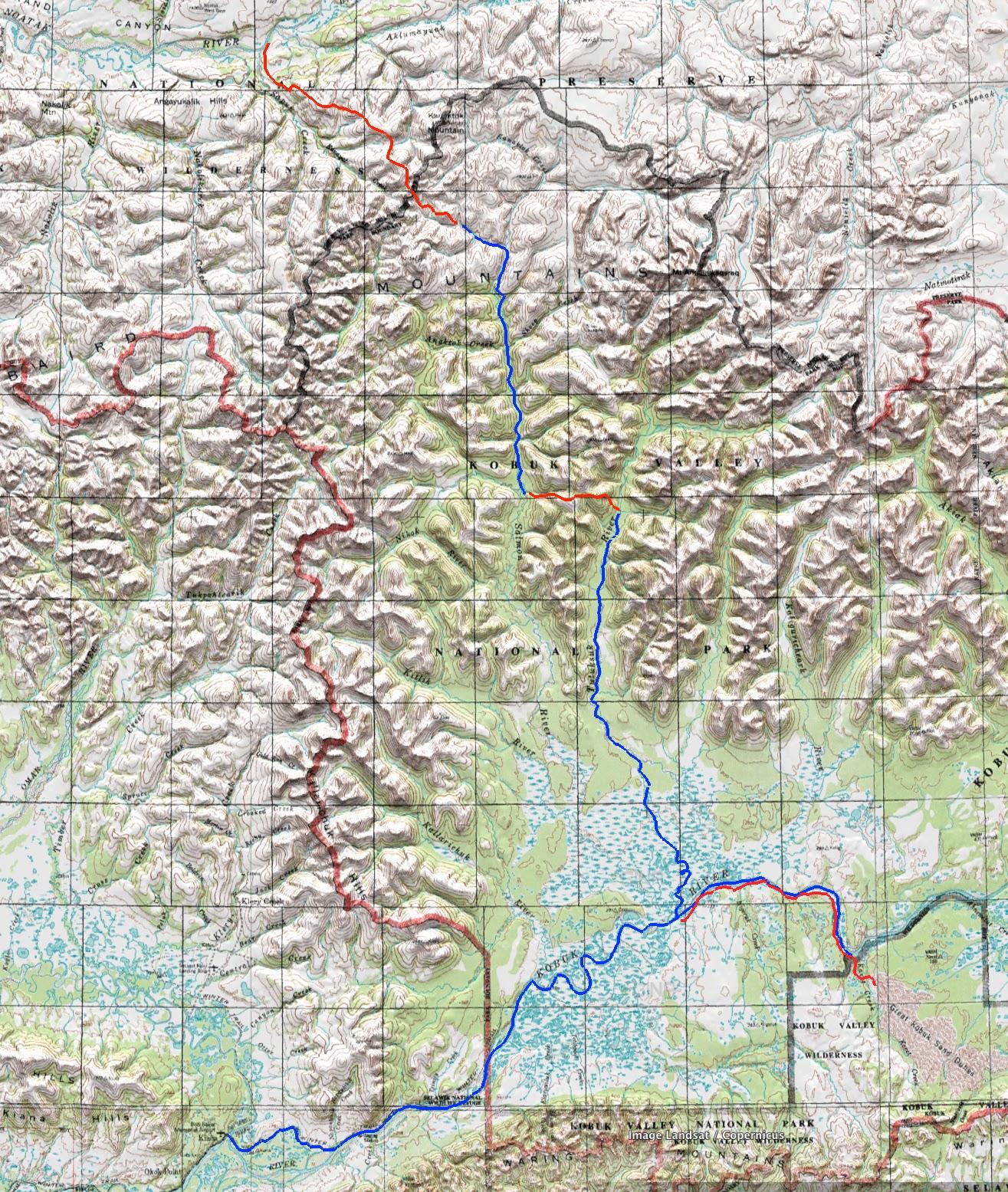 The Roaming Dials Kobuk Valley National Park June 2016 and Bering