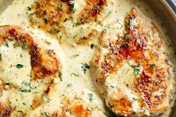 Quick And Easy Creamy Herb Chiken Recipe