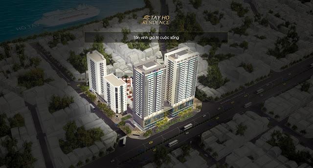 Chung cư Tây Hồ Residence - Lake view 1A-1B udicwestlake