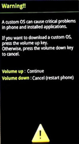 Samsung-Android-Download-Mode-Options