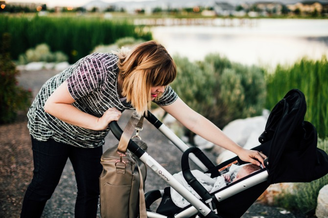 Read Michelle's advice on how to pick a baby stroller