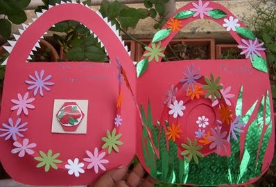 Cards crafts kids projects spiral pop up card tutorial and tips spiral pop up card flower garden m4hsunfo