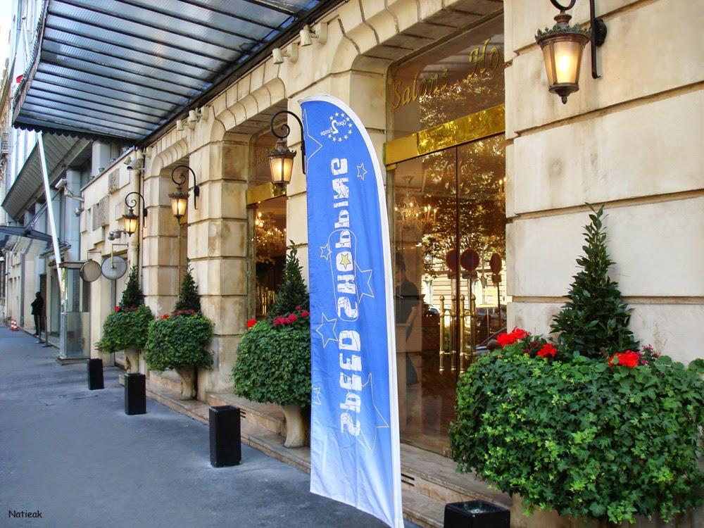 Speed Shopping par Open2europe salons Hoche à Paris