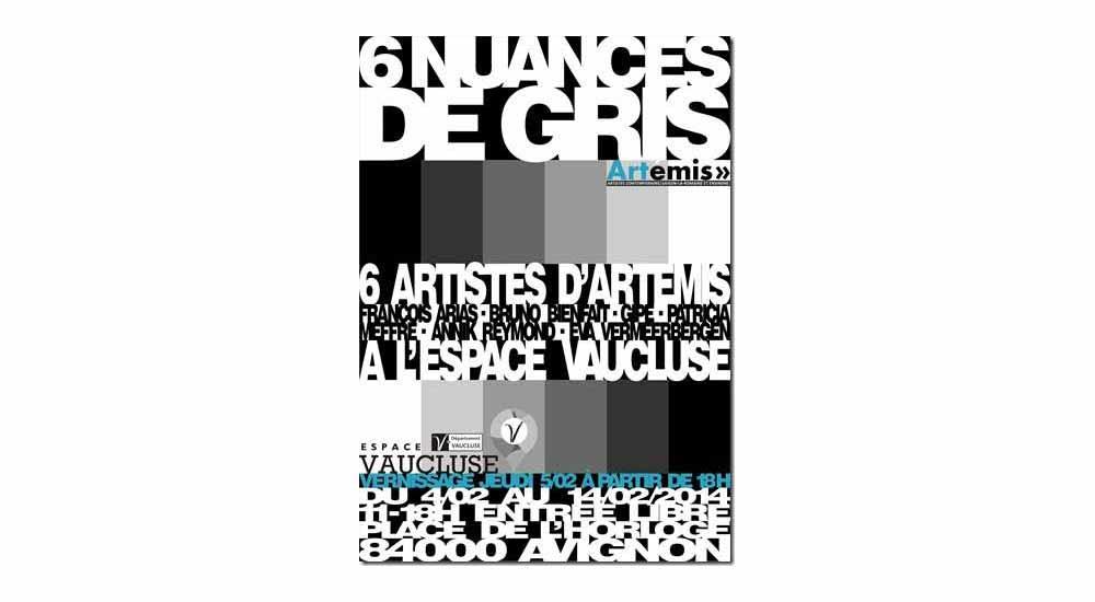 Affiche exposition Espace Vaucluse Avignon