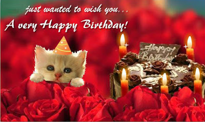 Happy Birthday Wises Cards For friends: just wanted to wish you,