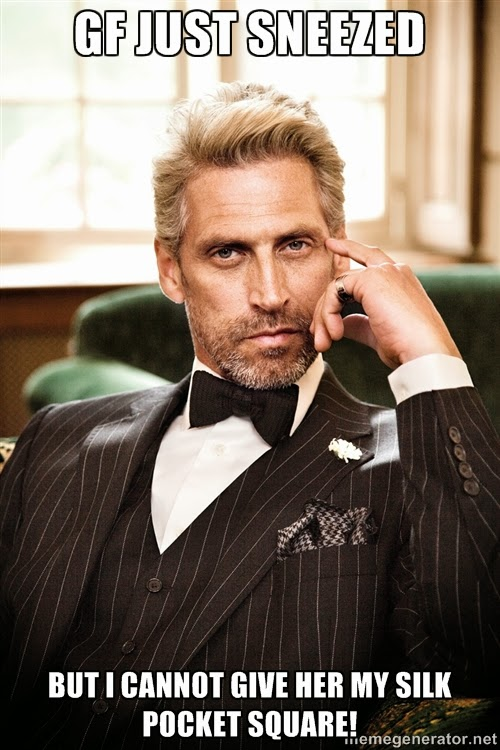 movember 05 - Top 5 Problems of the Sharp Dressed Man