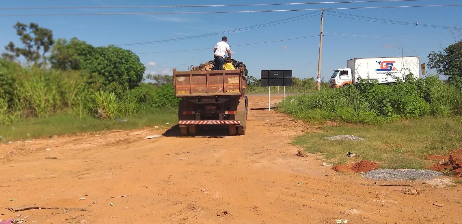 20190114 103617 - O administrador regional do Jardim Botânico, João Carlos Lóssio lançou, nesta segunda feira, ações de limpeza nas ruas que acontecerão de 14 a 16 de janeiro de 2019. SOS DF