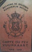 Vuurkaart 1914-1918