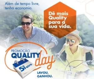 Promoção Quality Lavanderia 2018 Quality Day Quinta Lavoy Ganhou