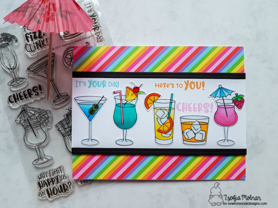 Here's to You by Zsofia features Cocktail Mixer by Newton's Nook Designs; #newtonsnook