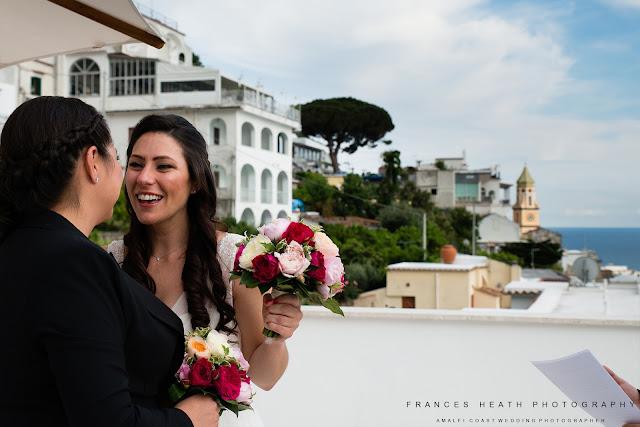 Wedding ceremony Casa Angelina Praiano