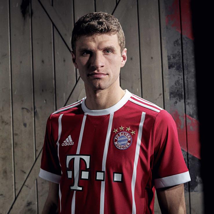 15f9c9a58 Bayern Munich 17-18 Home Kit Released - Footy Headlines