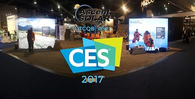 CES 2017 Proves to be a Success for Ascent Solar Technologies, Stock Symbol: ASTI