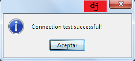 Test Connection iReport