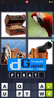 4 Immagini 1 Parola livello 267