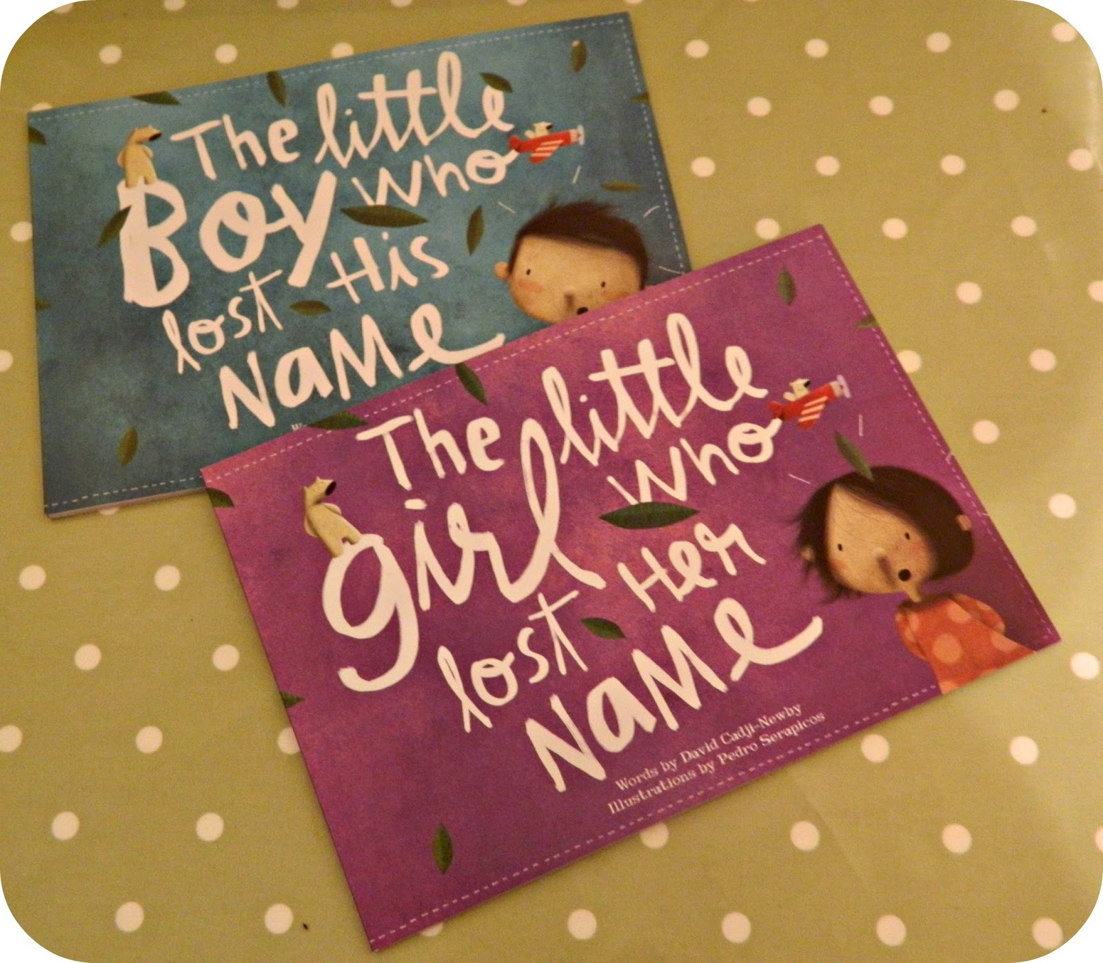Lost My Name Books - The Little Boy who lost his name and the little girl who lost her name