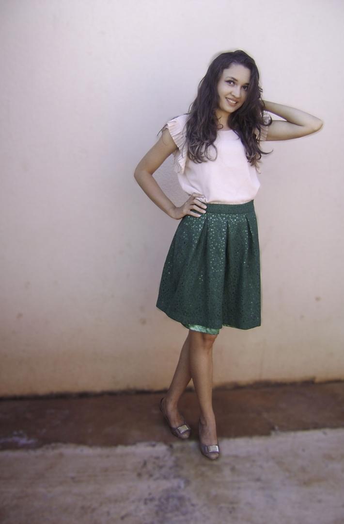 Beleza, Look do dia, Lookoftheday, Moda, Resenha, Uma peça vários looks, blusa de crochê,