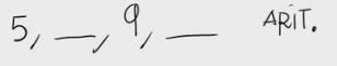 2. Términos de una progresión aritmética 2