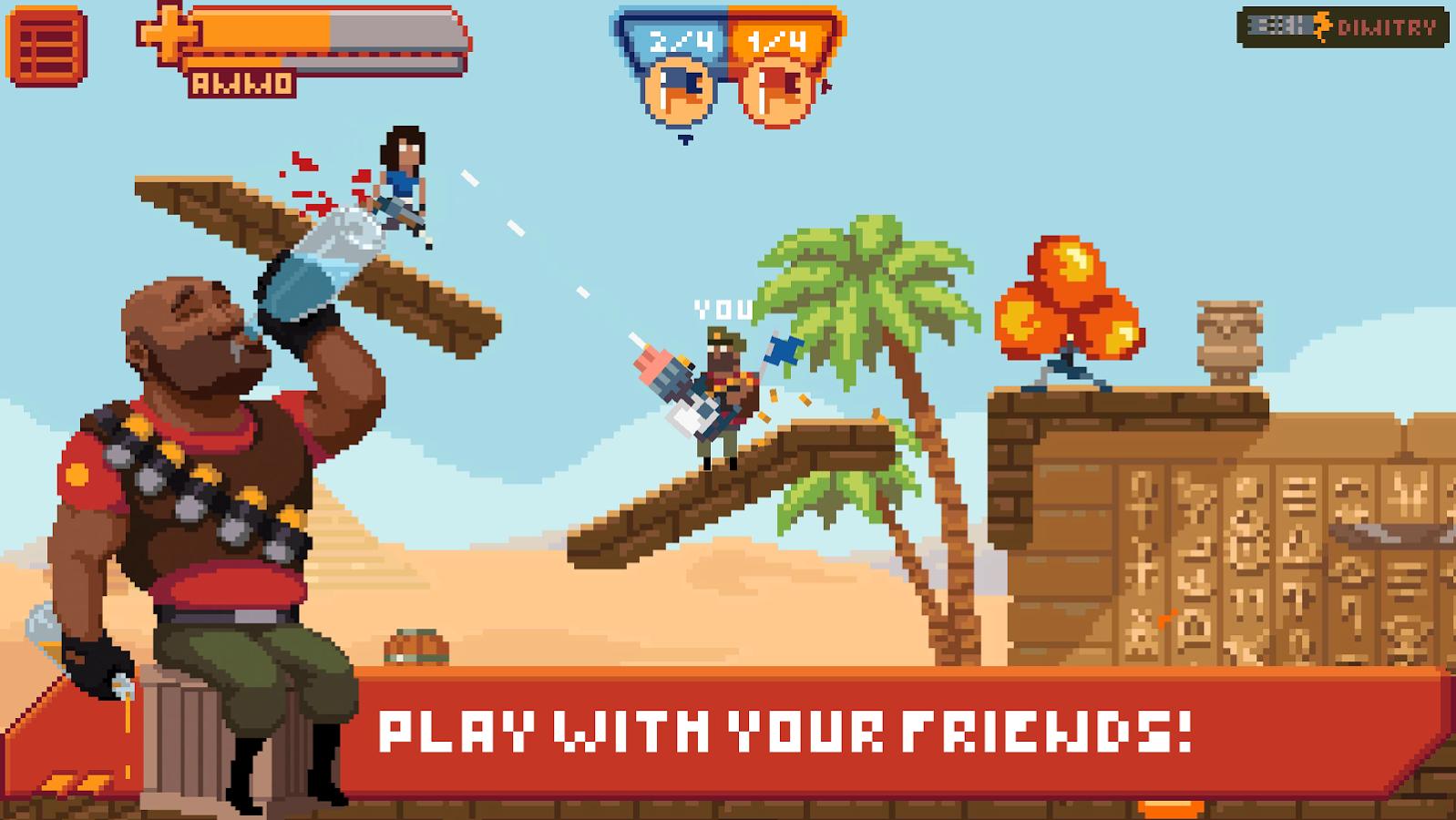 Game Gangfort - online 2D shooter Apk 2.1 for Android