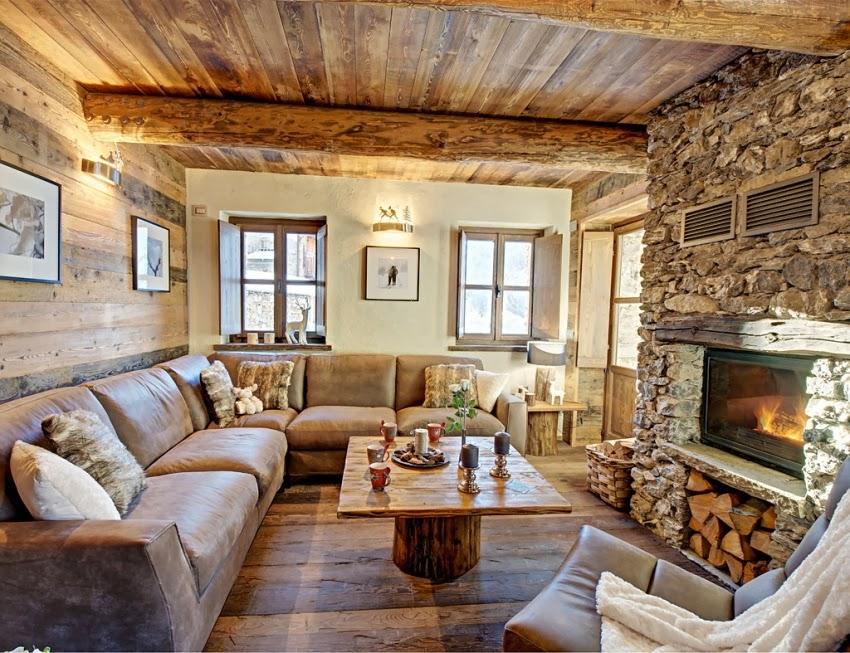 Zachwycająca drewniana chatka w Alpach, wystrój wnętrz, wnętrza, urządzanie domu, dekoracje wnętrz, aranżacja wnętrz, inspiracje wnętrz,interior design , dom i wnętrze, aranżacja mieszkania, modne wnętrza, styl rustykalny, styl klsyczny, drewniany dom, dom w górach, górska chata, salon